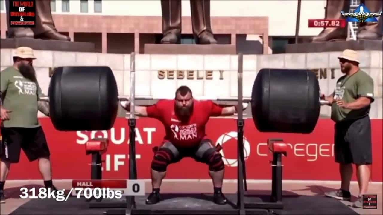 Feeder Leg Workout: 20 Rep Squats